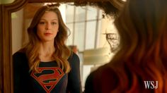Melissa Benoist of 'Supergirl' on Comics and Costumes
