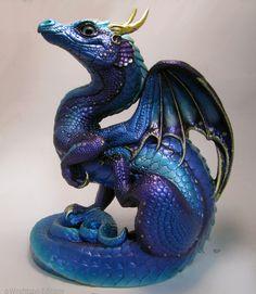 raffle prize march 2015 Purple morpho scratching dragon