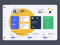 A-Health Dashboard Website Due to this situation, digital products that allow tracking various vital indicators are now just a necessity. So we decided to create a product concept for telemedicine. Since we have experience i… Dashboard Ui, Dashboard Design, Logo Design, App Design, Design Agency, Graphic Design, Mobile App, Business Coach, Website Design