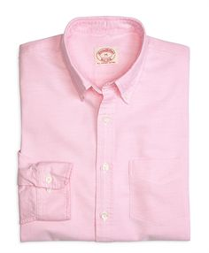 Solid Oxford Sport Shirt Pink