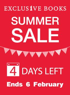4 Days Left, Summer Sale, It Works, Campaign, Books, Libros, Book, Book Illustrations, Nailed It
