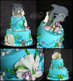 i love anything marine life/ ocean themed :)i love this cake this is my favorite one its beautiful i love it!