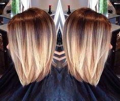 30 Ombré Hair Chic Pour Les cheveux Courts – Tendance Automne 2015   Coiffure simple et facile