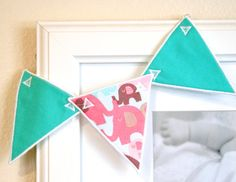 ITH Bunting Machine Embroidery Design Pattern by KatieLDesigns, $3.00