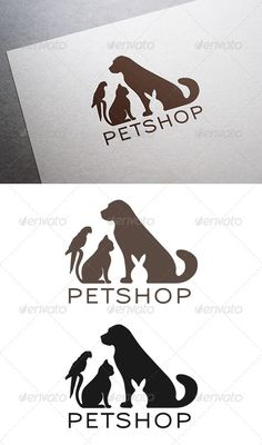 Veterinary Pet Shop Logo