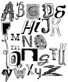 I love the different styles of hand drawn type specifically the 3d styled 'H' the shadow gives it a metal like effect, i also love the retro look of the letter A and D