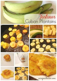 Cuban food and Authentic Cuban recipes - Cuban Husband Approved! Picadillo (Easy Dinner | Ground Beef Recipe), Tostones (Fried Plantains), and Moscato Mojito (great summer cocktail recipe). Ultimate Cuban Comfort Food straight from a Cuban Grandmother! Closest you can get aside from traveling to Miami!