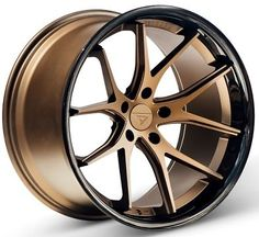 20x10.5 Ferrada FR2 5x112 ET20 Matte Bronze Wheels (Set of 4)