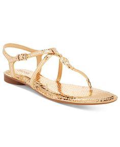 MICHAEL Michael Kors Bethany Flat Sandals - Sandals - Shoes - Macy's