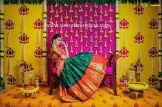DecorbyKrishna, authentic and eco-friendly traditional home based events wedding and floral decorations Indian Wedding Flowers, Indian Wedding Stage, Wedding Stage Backdrop, Wedding Backdrop Design, Desi Wedding Decor, Wedding Hall Decorations, Wedding Mandap, Backdrop Decorations, Handmade Decorations