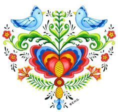 "Add a touch of Europe with this Rosemaling Lovebirds Heart magnet. Makes for a great thank you gift or house warming present. Or simply as a way to say I Love You to those close to you. - Features Strong Magnet on Back - For decorative use only - Approximate Dimensions (Length x Width x Height): 2.5x2.5x0.25"" - Material Type: Ceramic"