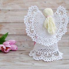 Aprende a tejer los ángeles más hermosos a crochet / DIY   Crochet y Dos agujas - Patrones de tejido