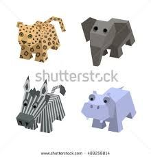 Image result for how to draw an isometric animal