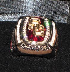 2009 Rose Bowl Ring - USC Trojans