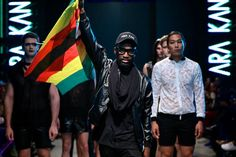 Zimbabwe's Ara Kani is at Mozambique Fashion week this year
