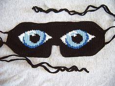 Eye See You Sleep Mask - Knot By Gran'ma Ravelry pattern