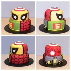 All Ryan's Favorite Super Heroes on His Cake. Devils Food Cake with Mini Chocolate Chip Filling & Chocolate BC  Follow us on FB at www.facebook.com/sweetsbymonica   #anytime #alloccasions #birthday #cake #cakes #celebrate #chocolate #decadent #delicious #excited #fun #followonfb #happy #love #biloxi #red #sweet #sweets #sweetsbymonica #white #green #yellow #gray #black #blue #yum #yummy #superheroes #marvel #dccomics