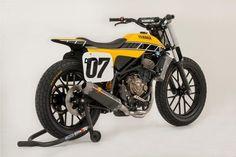 Yamaha USA creates MT-07 flat-track concept