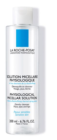 La Roche-Posay Solution micellaire physiologique - It's a good cleanser for the eyes and face, but I found it left my skin a bit tight Skin Care Home Remedies, La Roche Posay, Micellar Water, Facial Wash, Make Up Remover, Solution, Beauty Trends, Beauty Ideas, Beauty Hacks