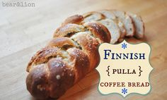 Finnish Coffee Bread (pulla) - I have made this bread 5 times using other recipes.  This is a great recipe. Only caution...this will make 2 loeaves, maybe even 3 if you want a smaller loaf.  Excellent!  My girls love it toasted.