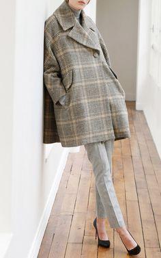 swing coat - Martin Grant Pre-Fall 2015 Trunkshow   Moda Operandi