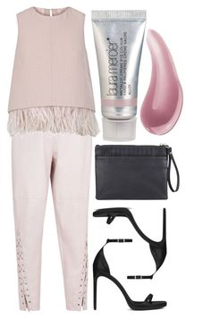 """Light Pink"" by cherieaustin ❤ liked on Polyvore featuring Laura Mercier, Isabel Marant, The 2nd Skin Co., Yves Saint Laurent, Sole Society, Bare Escentuals, women's clothing, women's fashion, women and female"