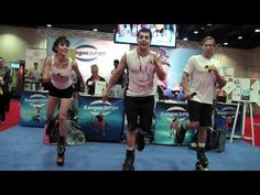 Kangoo Jumps at IHRSA 2011 come and visit us in Los Angeles 2012
