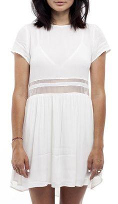 White My Tee Dress