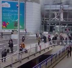 Katër shpërthime kanë tronditur Brukselin në orët e para të mëngjesit të së martës, dy prej të cilëve të verifikuar në aeroportin Zaventem, ndërsa dy të tjerët në dy stacione metroje në zemër të kr…