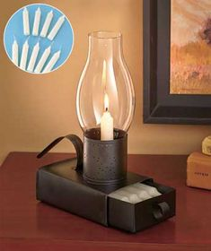 Organization at home should include emergency things like candles - you never know when the lights are going to go out! The Emergency Candle Set's traditional style means that it will fit in with any décor style!