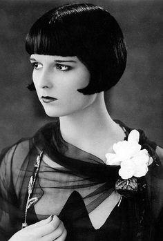 Louise Brooks--ancient faces's