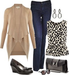 """""""Weekend Look"""" by fiftynotfrumpy ❤ liked on Polyvore"""