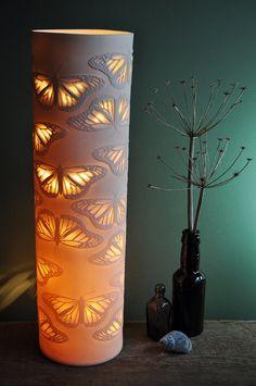 Monarch Column Porcelain Lamp