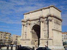 Arch of Triumph in Marseille - France