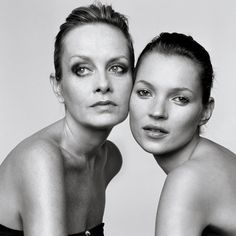 Twiggy and Kate  :)