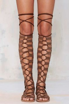 Jeffrey Campbell Olympus Suede Gladiators - Shoes | Shoes | All