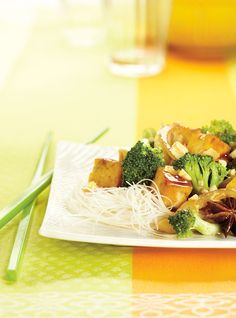 Recette de Ricardo de tofu sauté au brocoli