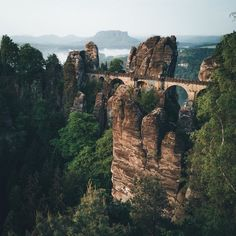 6f93f332f726 Early mornings in Germany with I captured the mystical Bastei Bridge with  my in Pro Mode a couple of weeks ago.