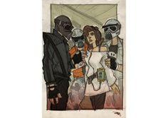 Дизайнер представил героев «Звёздных войн» в стиле 80-х. Изображение №19.