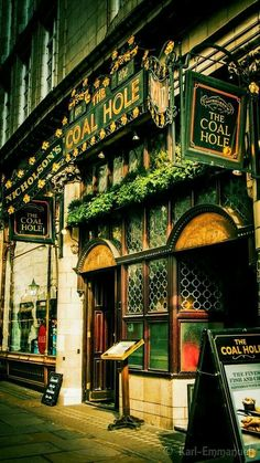 Happy National Beer Day April 7th!!! Coal Hole Pub, London, England