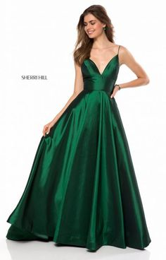 Shop long prom dresses and formal gowns for prom 2020 at PromGirl. Prom ball gowns, long evening dresses, mermaid prom dresses, long dresses for prom, and 2020 prom dresses. Grad Dresses Long, Prom Dresses With Pockets, Sherri Hill Prom Dresses, V Neck Prom Dresses, Trendy Dresses, Nice Dresses, Evening Dresses, Fashion Dresses, Formal Dresses