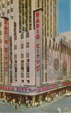 Radio City Music Hall - New York, New York by The Pie Shops, via Flickr
