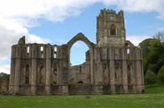 Fountains Abbey, in North Yorkshire, was founded by Cistercian monks in 1132 and is the largest monastic ruin in Britain.