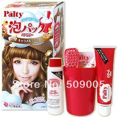 Japan Dariya Palty Foam Pack Bubble Hair Color Hair Dye 1 Box -  Caramel