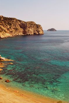 Vroulidia beach near Mastic village in Chios island, Greece.  - Selected by www.oiamansion.com