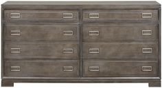 Vanguard Furniture: W552F Bromeley Double Drawer Chest