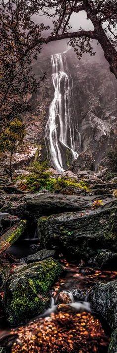Powerscourt Waterfall, Wicklow, Ireland
