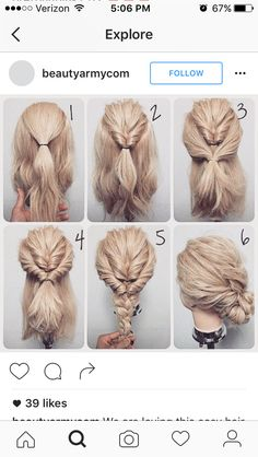 Hairstyles  Hair style