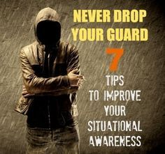 Even the most harmless looking scenario can turn into a full-blown problem at any moment. These 7 tips can prevent you from dropping your guard in a life-threatening scenario. Urban Survival, Survival Life, Wilderness Survival, Camping Survival, Outdoor Survival, Survival Prepping, Survival Skills, Survival Gear, Survival Stuff