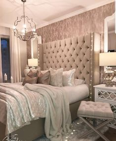 Home Decor Bedroom .Home Decor Bedroom Feminine Bedroom, Modern Bedroom, Master Bedrooms, Master Suite, Contemporary Bedroom, Bedroom Ideas For Couples Master, Beautiful Bedrooms For Couples, Contemporary Style, Master Master